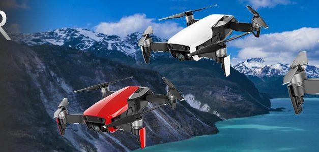DJI Mavic Air Drone aangeschaft