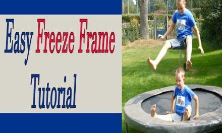 Wat is een Freeze Frame en hoe maak je die zelf