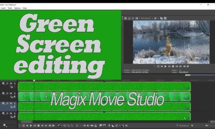 Green screen bewerking met Vegas Movie Studio