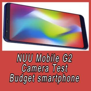 NUU Mobile G2 camera test