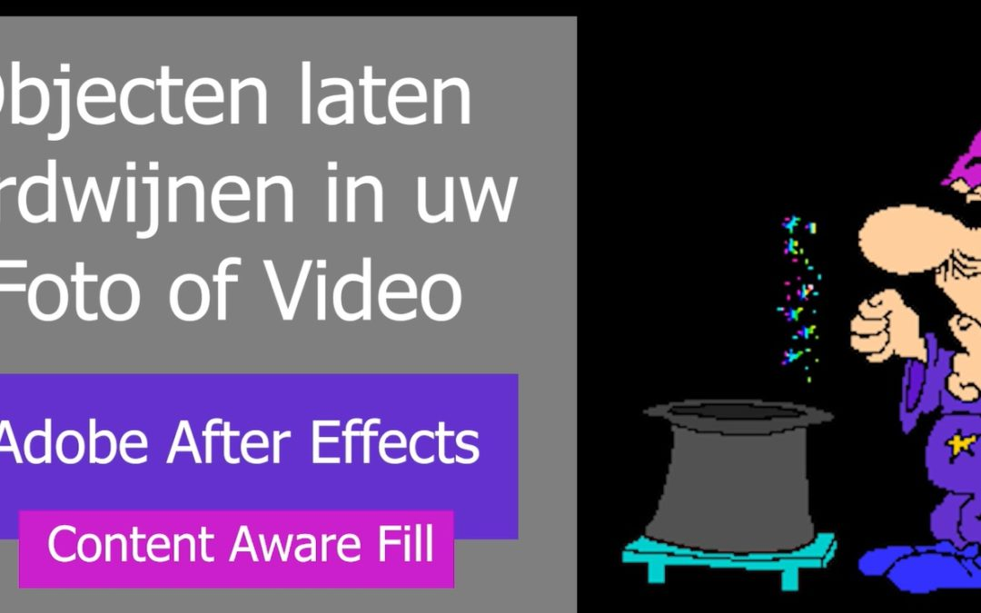 Adobe lanceert Content Aware Fill Tool – het laten verdwijnen van objecten