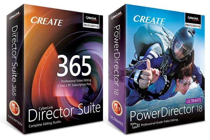 Cyberlink Director Suite 365 en Powerdirector 18 review